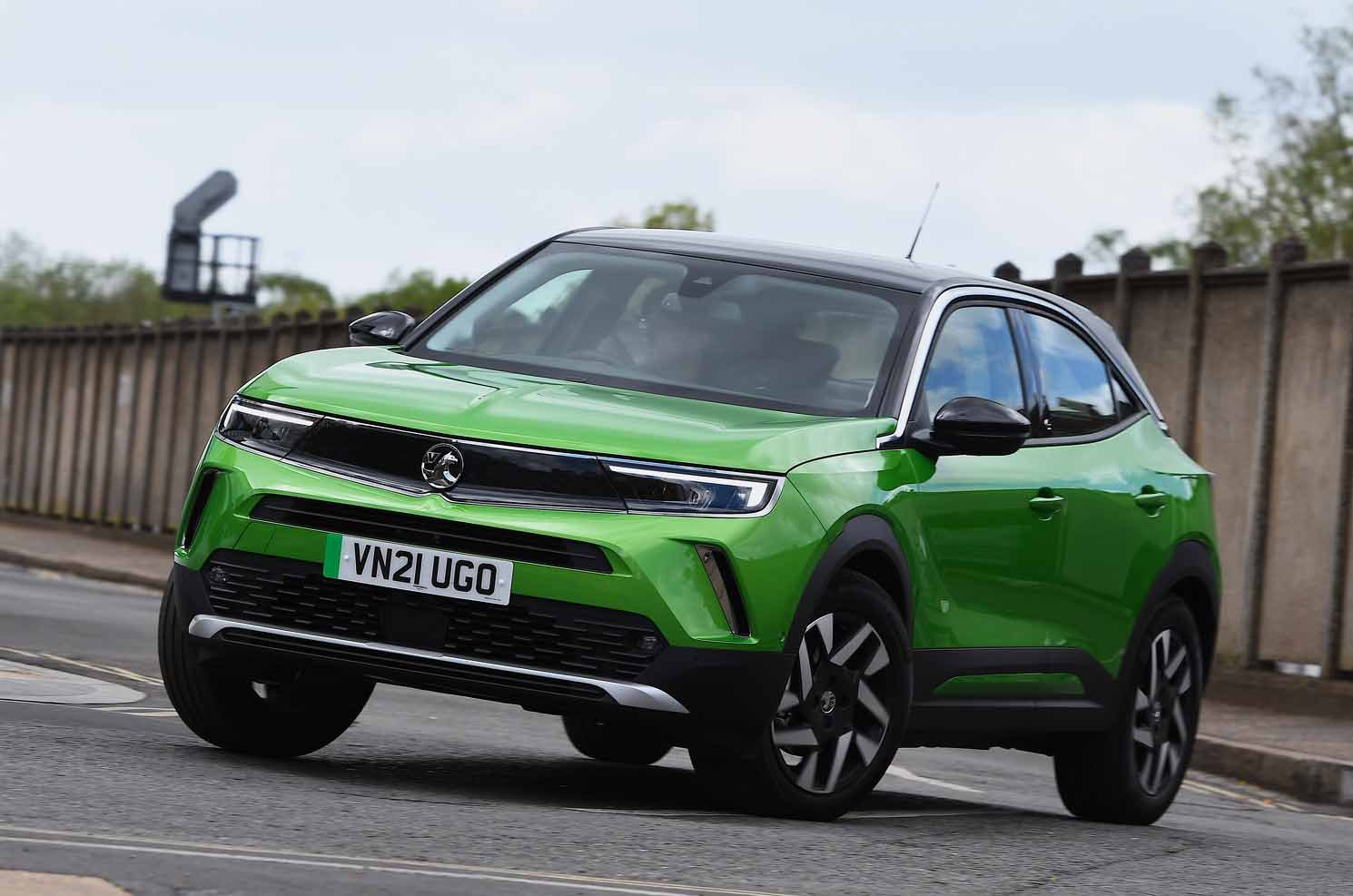 Vauxhall Mokka-e 2021 front
