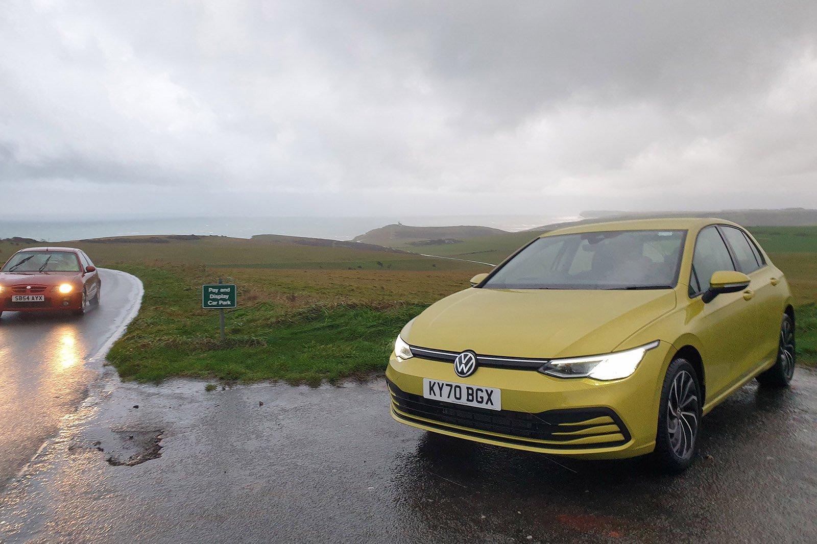 Volkswagen Golf 2021 drizzle shot