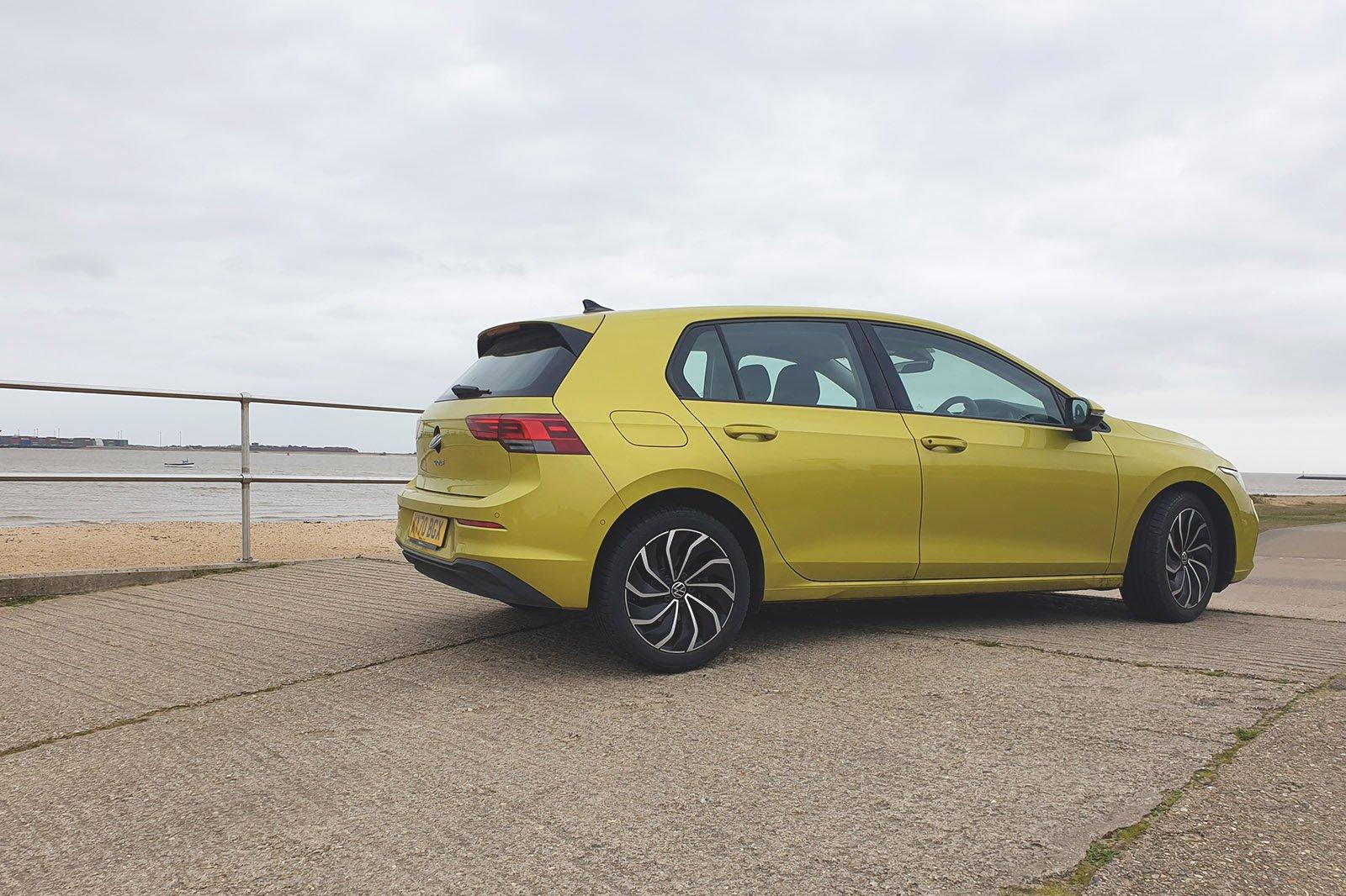 Volkswagen Golf 2021 long term rear view