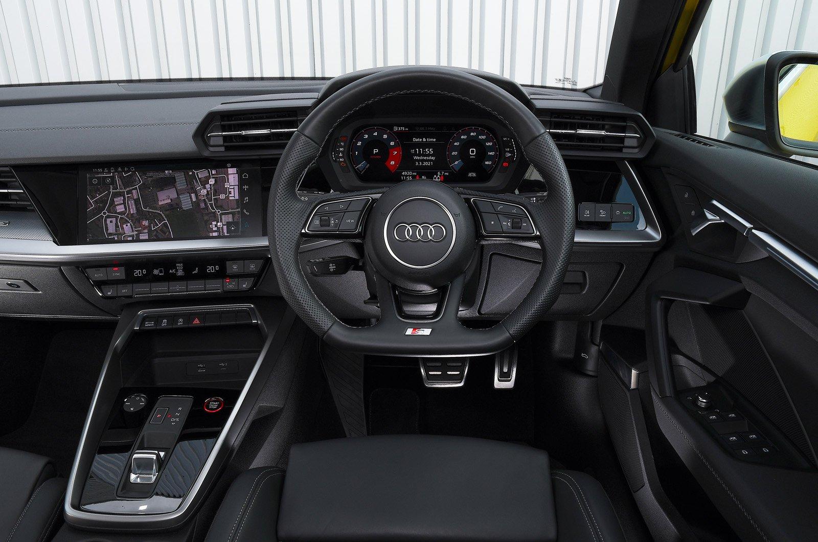 Audi S3 2021 painel