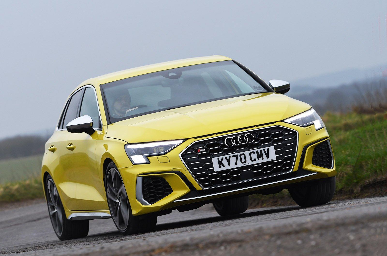 Audi S3 2021 frontal