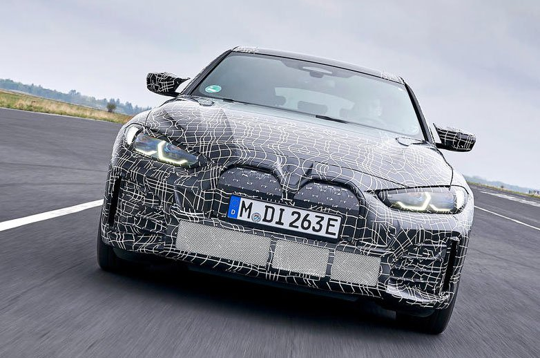 BMW i4 prototype nose