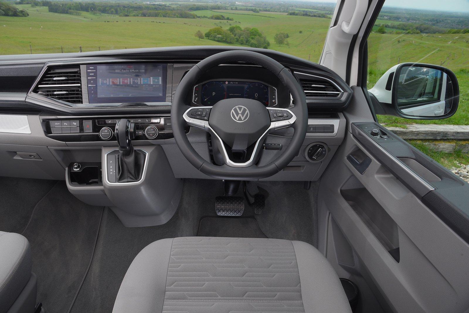 Volkswagen California 2021 interior dashboard