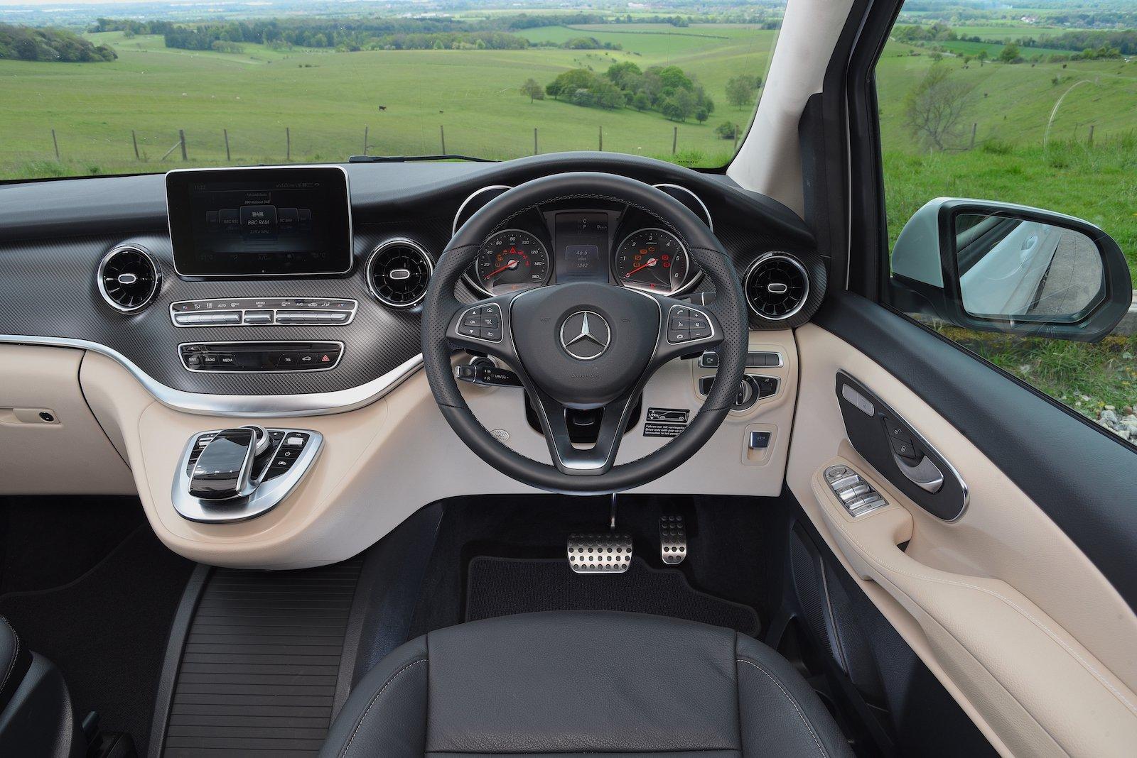 Mercedes V-Class Marco Polo 2021 interior dashboard