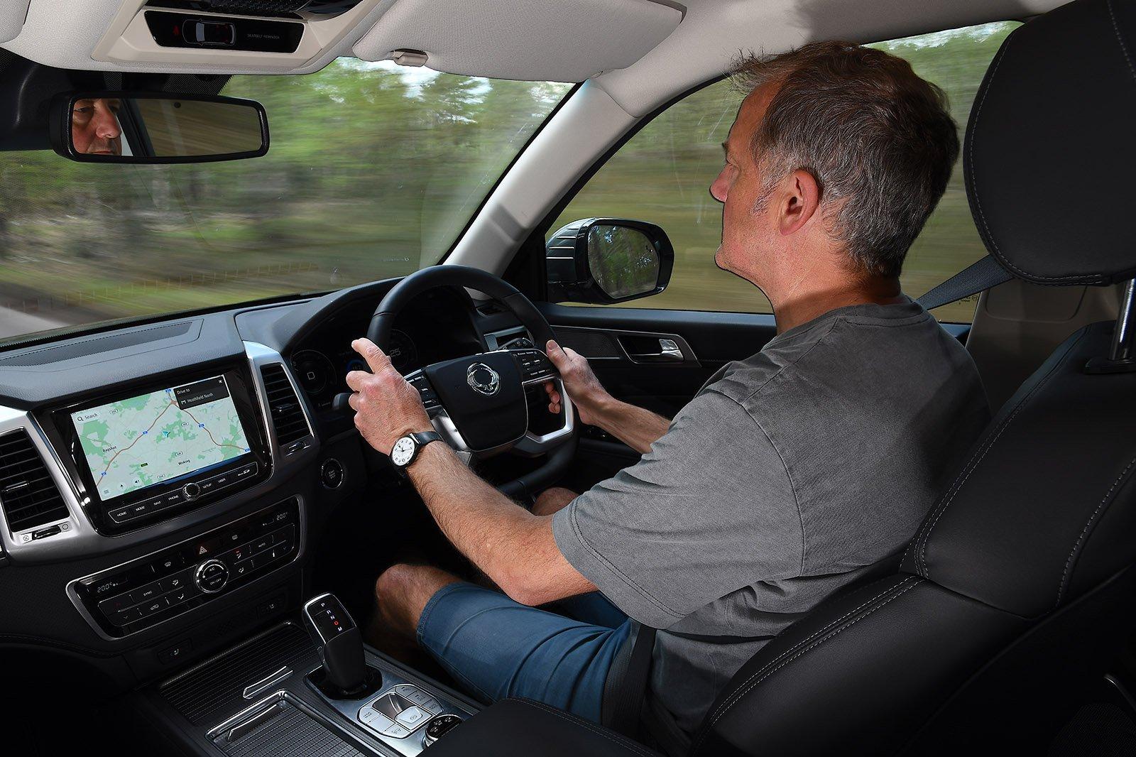 2021 Ssangyong Rexton long-term driving