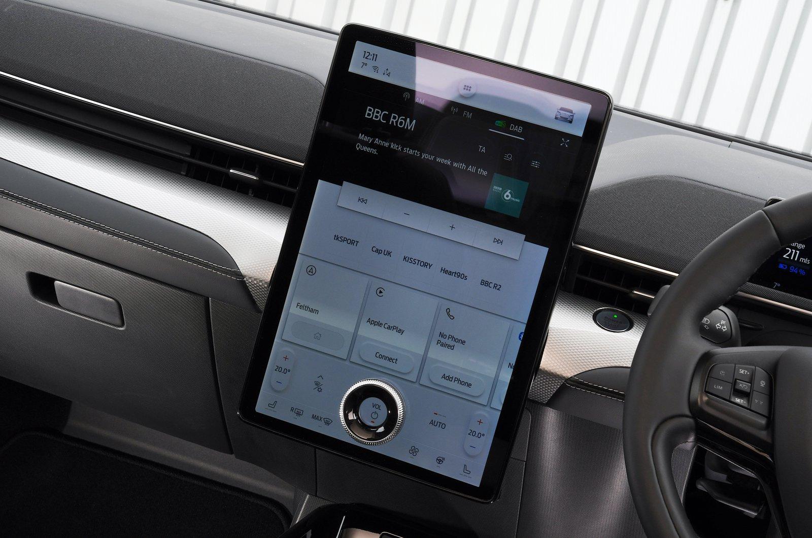 Ford Mustang Mach-E 2021 touchscreen