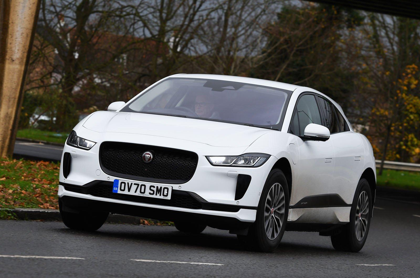 Jaguar I-Pace 2021 front