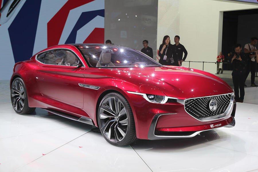 2021 MG E-Motion front