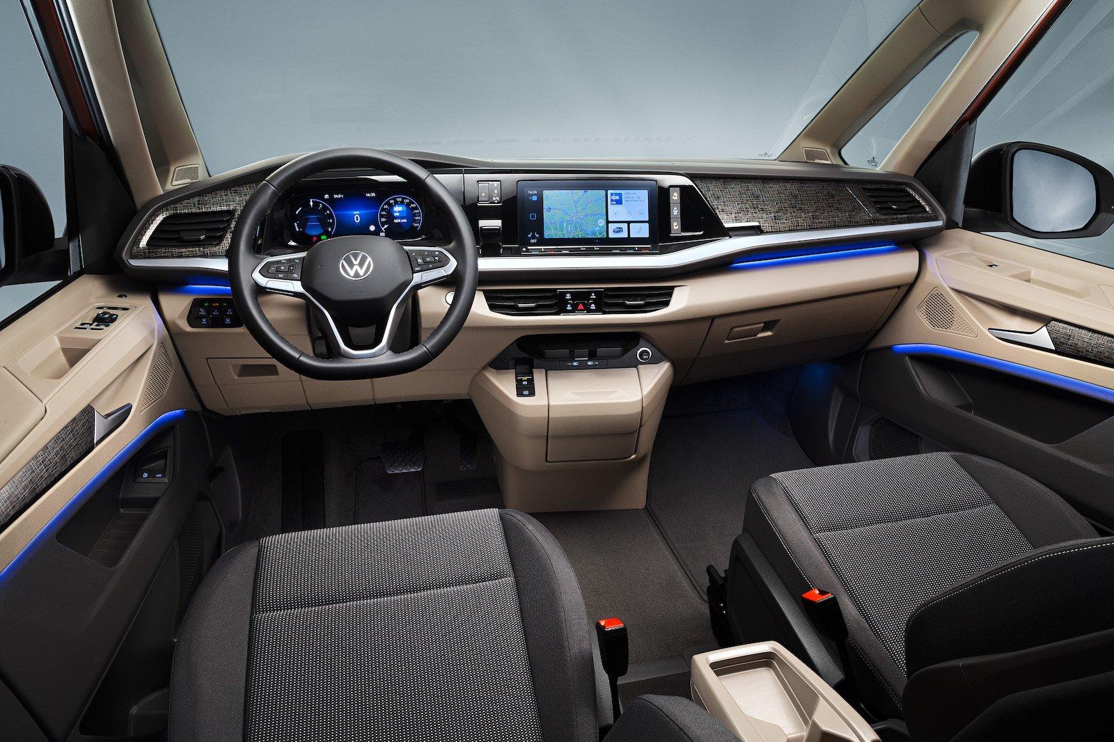 VW Multivan Interior Dashboard