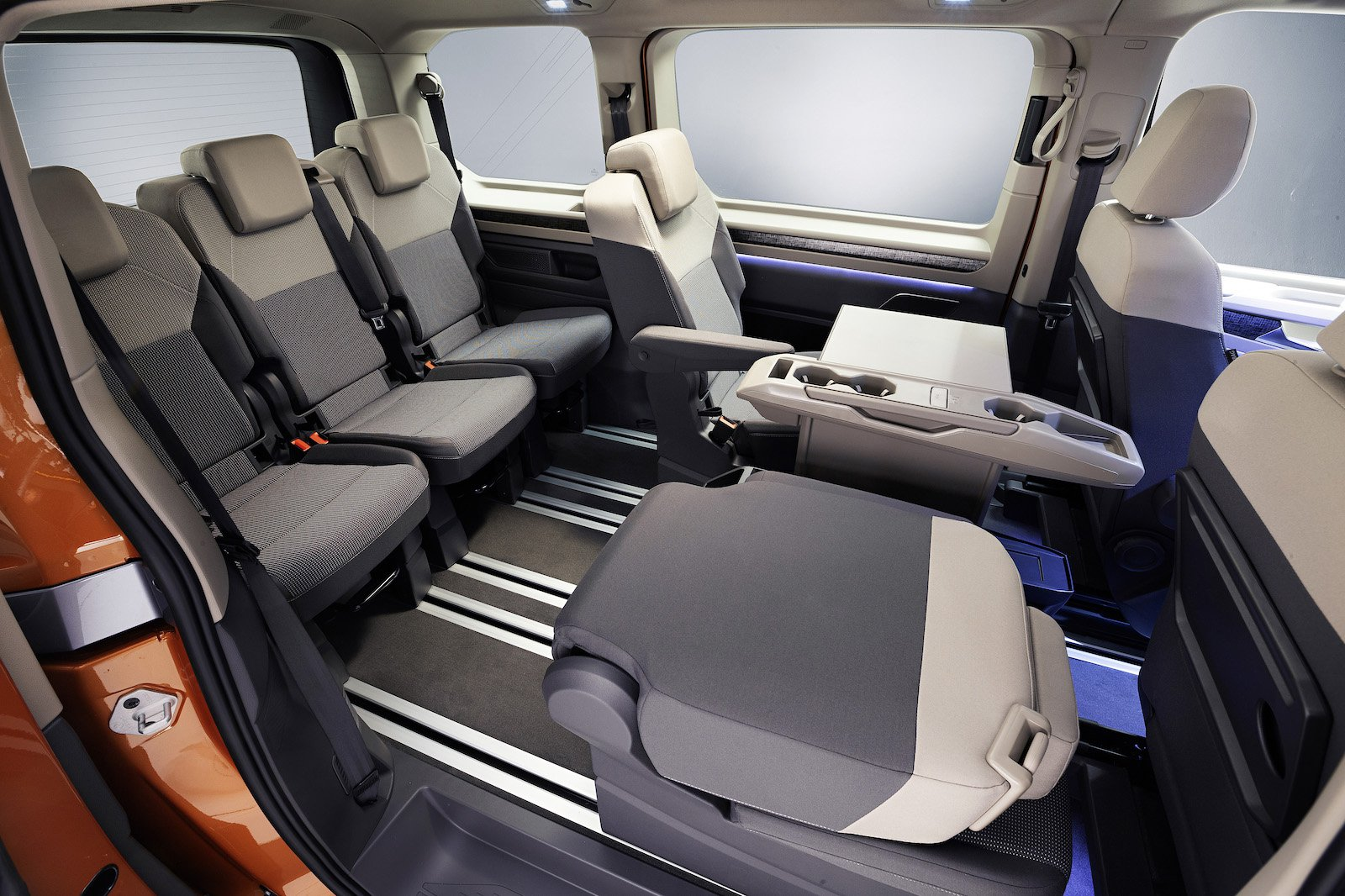 VW Multivan seats interior