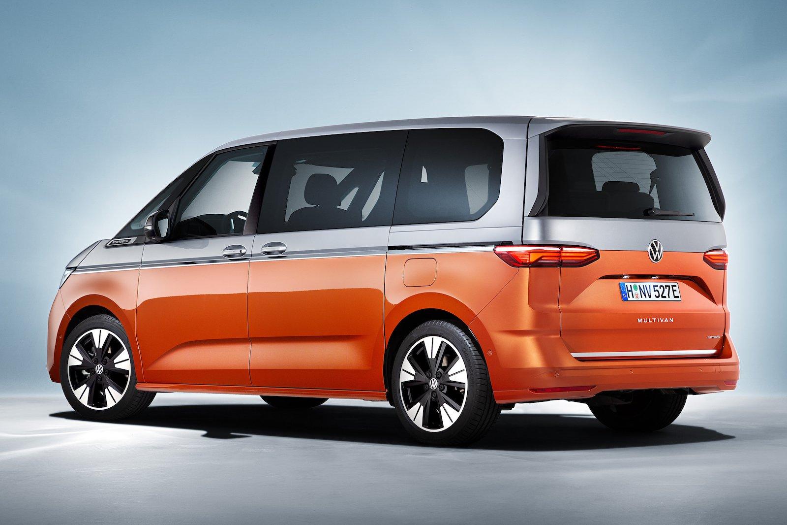 VW Multivan Rear