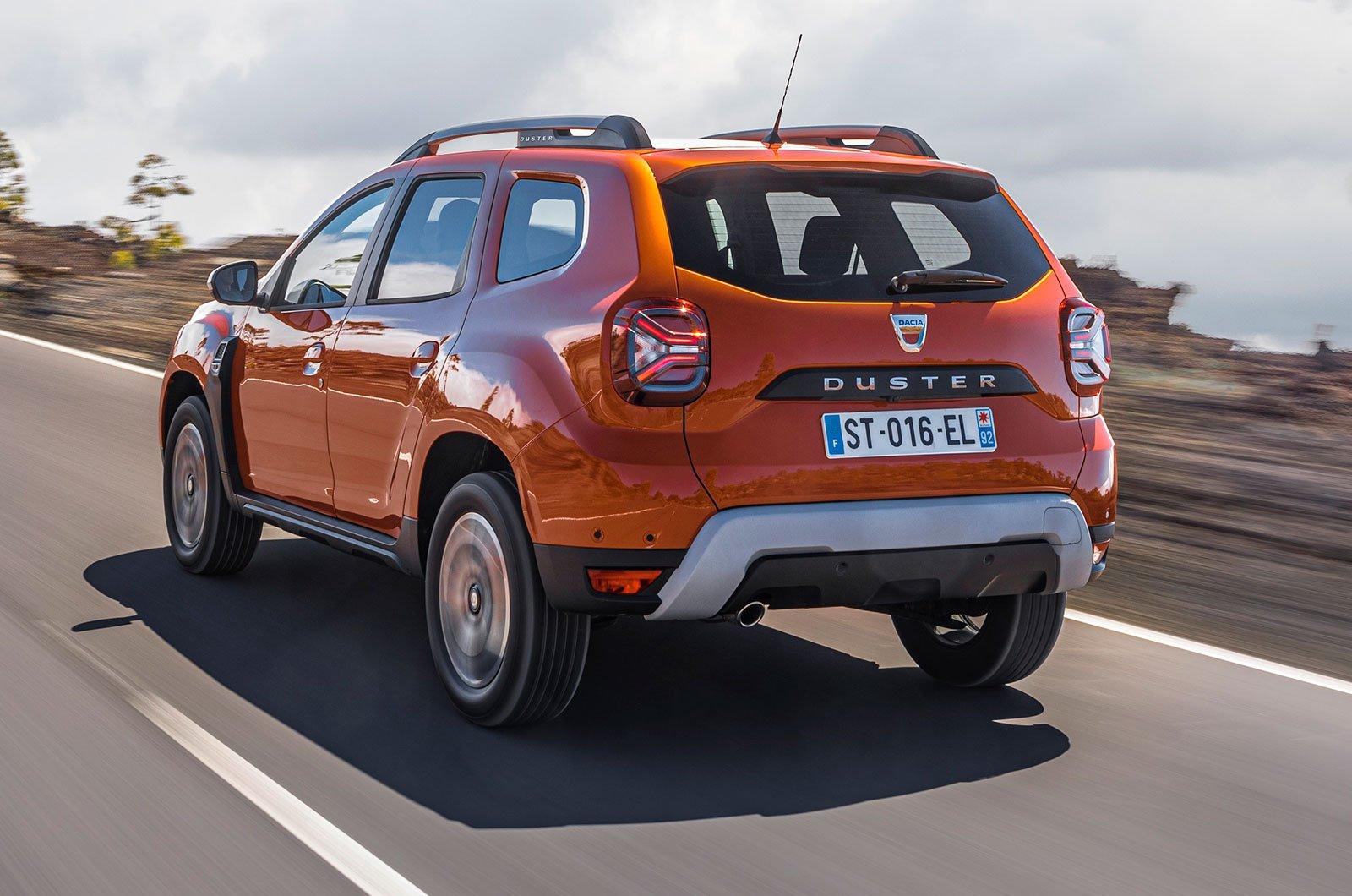 2021 Dacia Duster rear