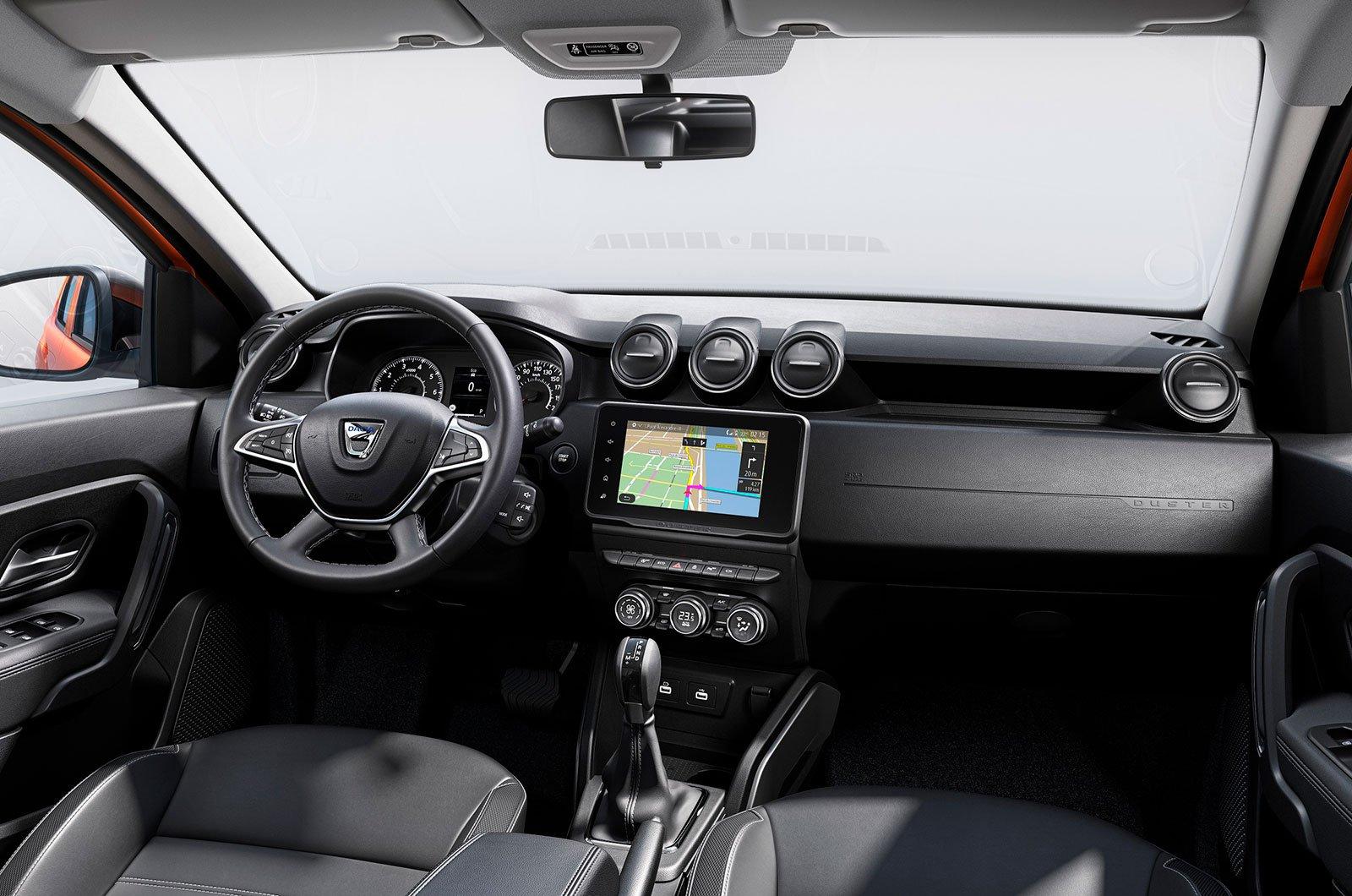 2021 Dacia Duster interior