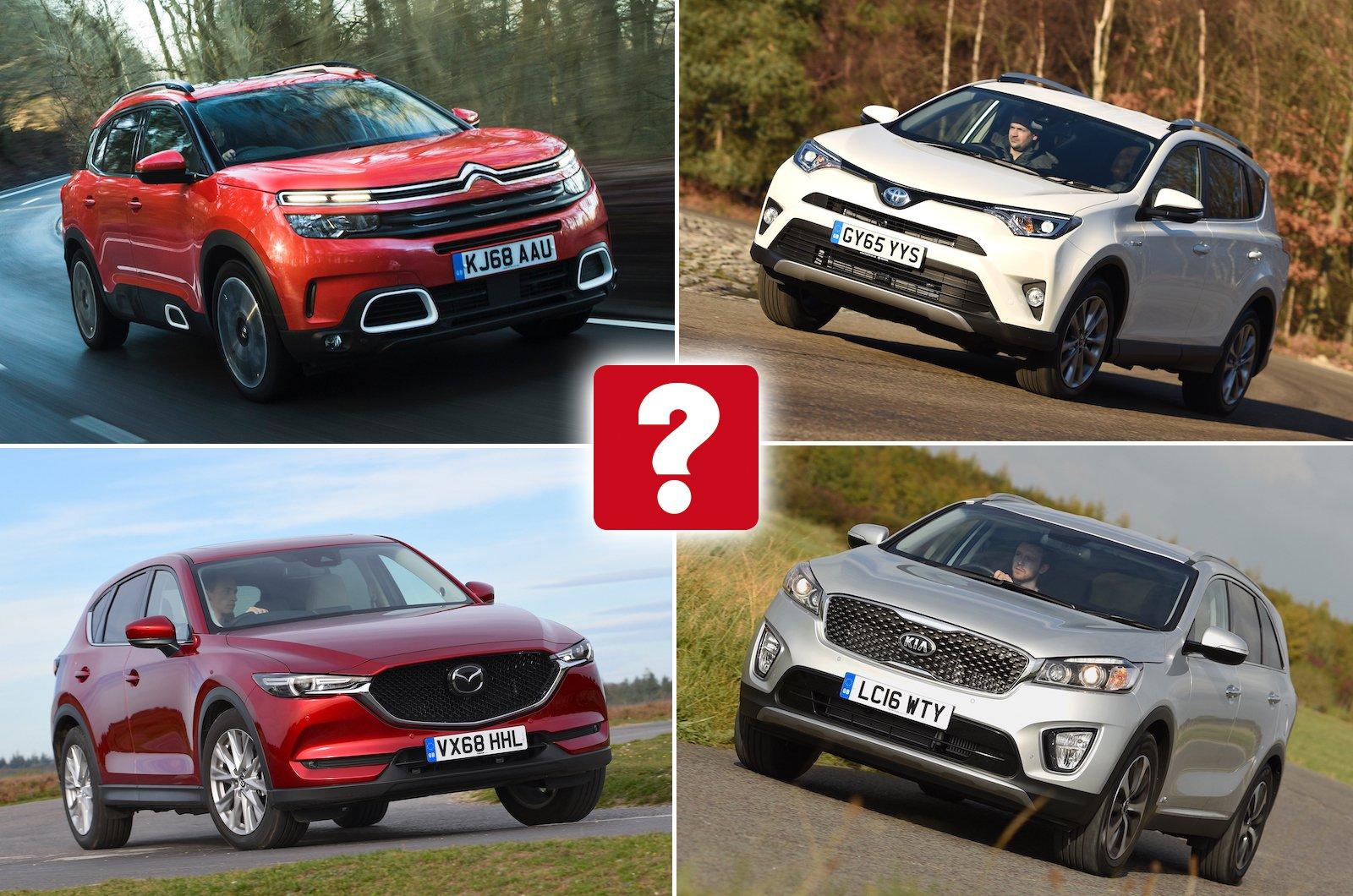 I migliori SUV di grandi dimensioni usati per meno di £ 20.000