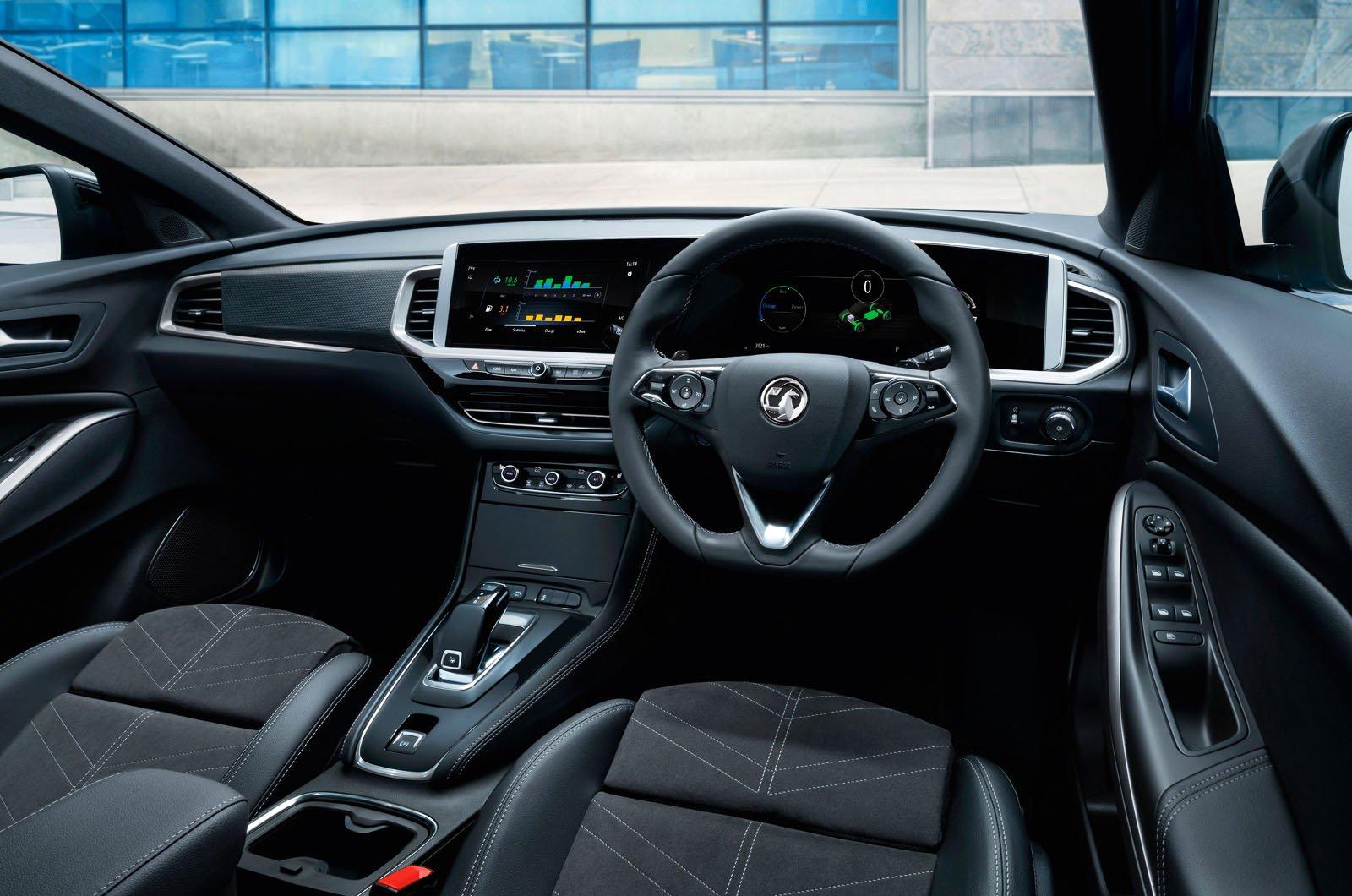 Vauxhall Grandland 2021 dashboard