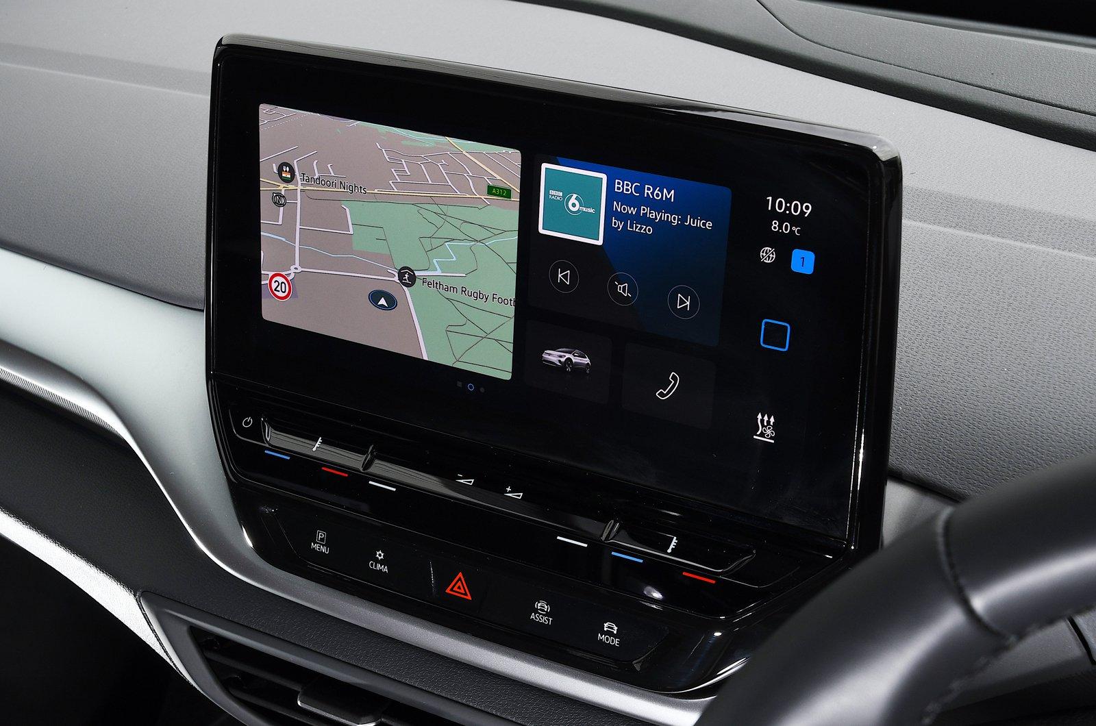 Volkswagen ID.4 2021 touchscreen