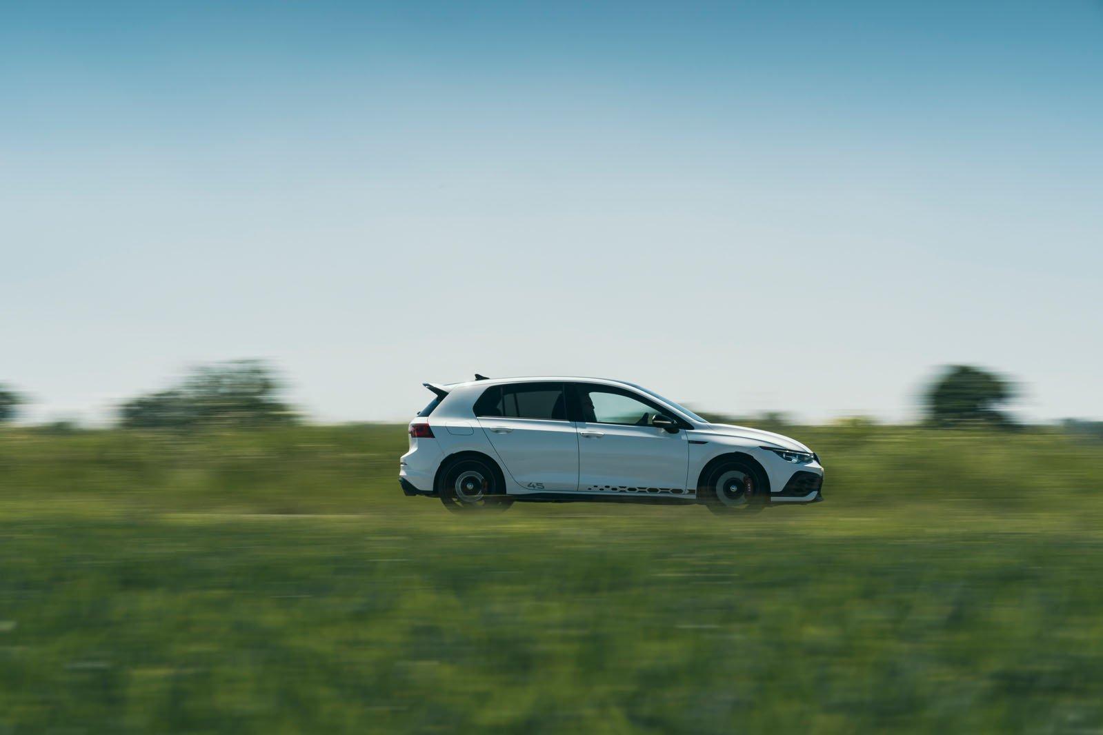 2021 VW Golf GTI CS 45 profile
