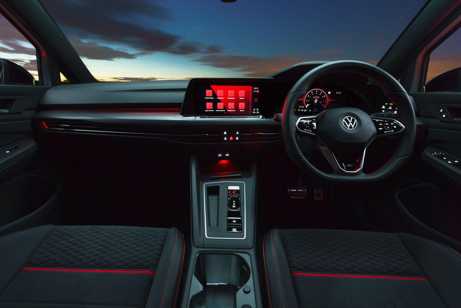 2021 VW Golf GTI CS 45 dash