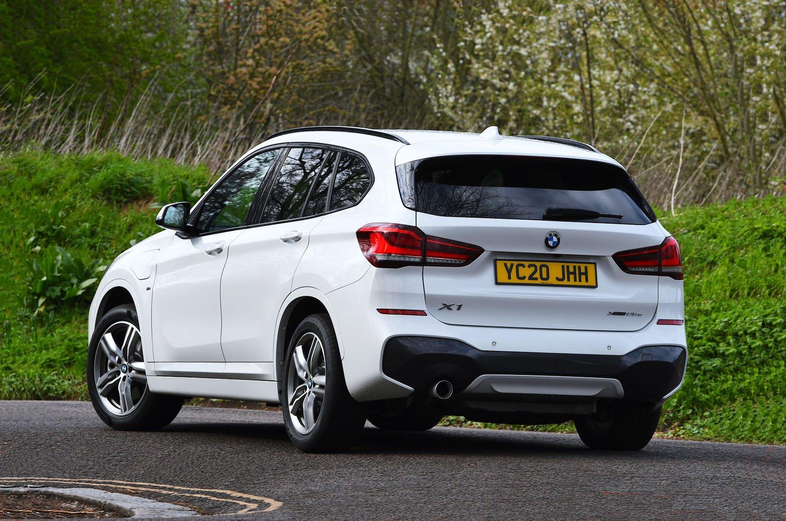BMW X1 xDrive25e 2021 rear
