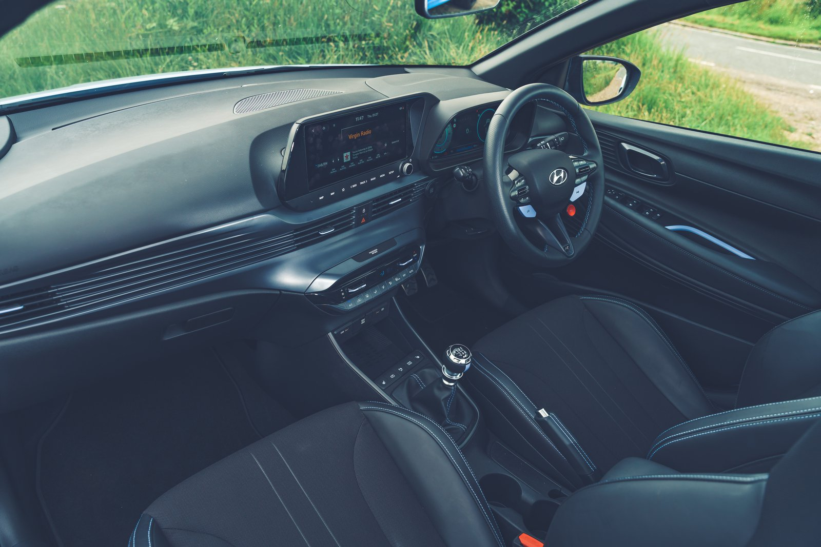 Hyundai i20 N 2021 interior dashboard