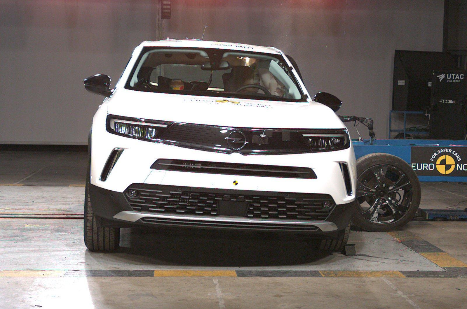 Vauxhall Mokka crash test