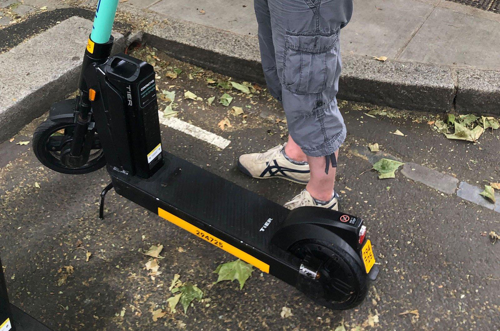 e-scooter base