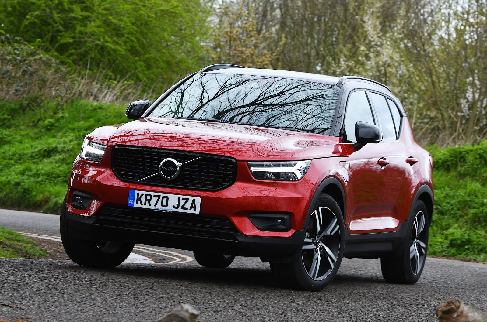 Volvo XC40 Recharge T4 2021 front