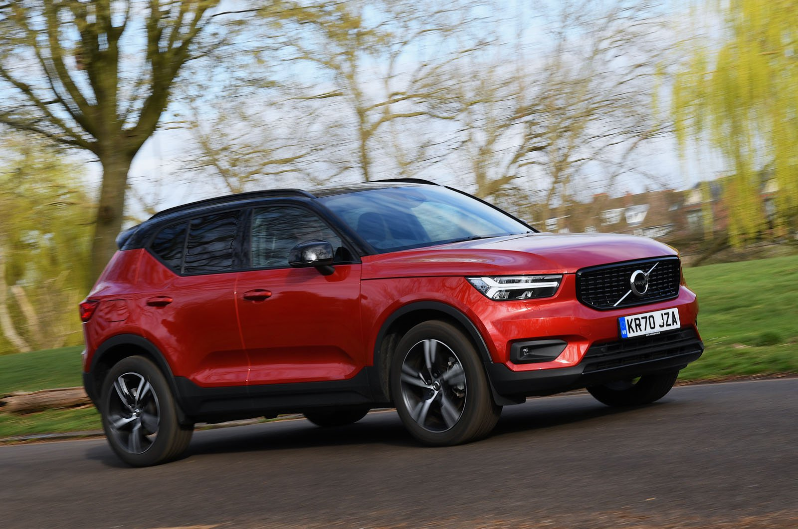 Volvo XC40 Recharge T4 2021 front pan