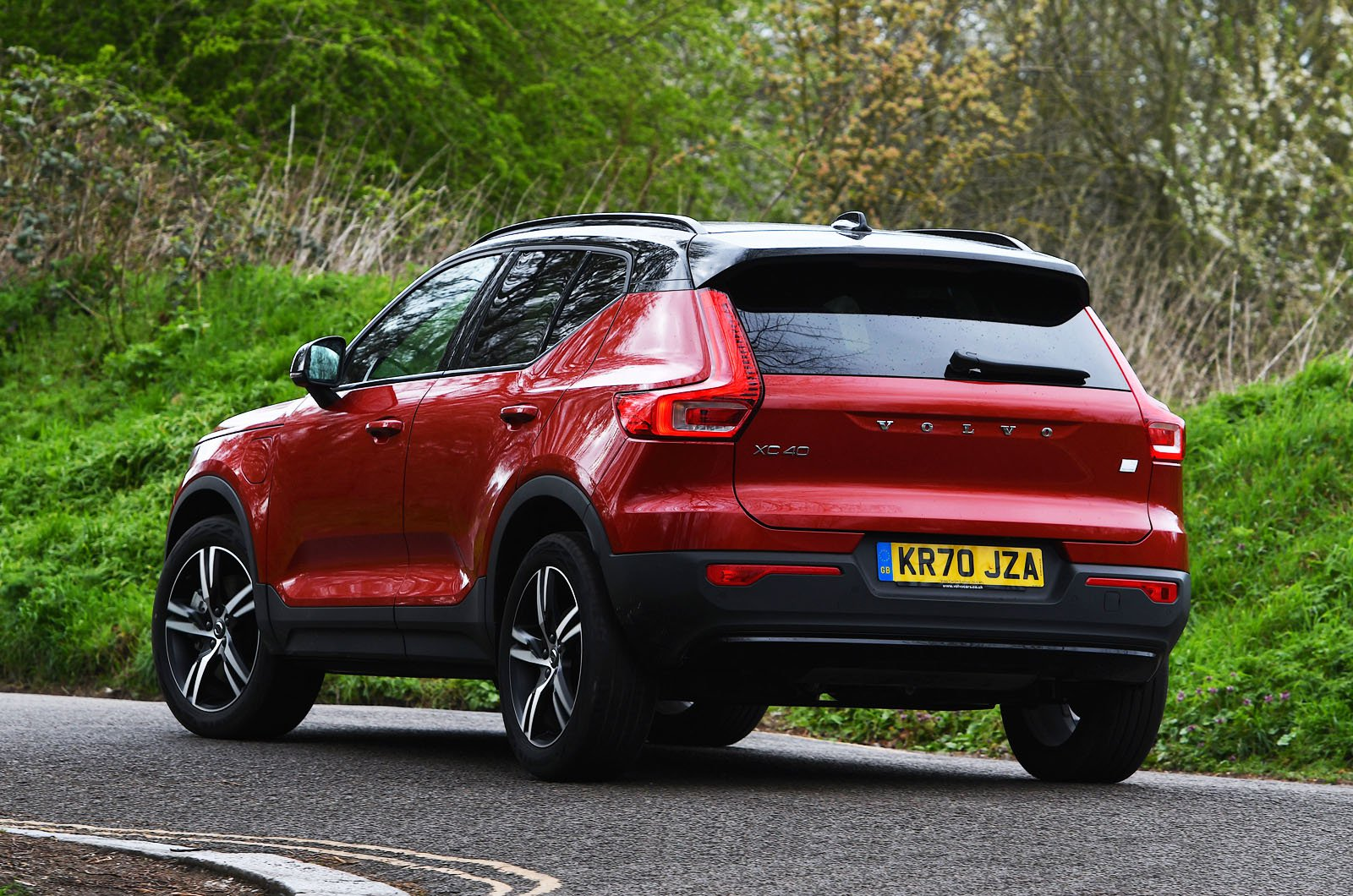 Volvo XC40 Recharge T4 2021 rear