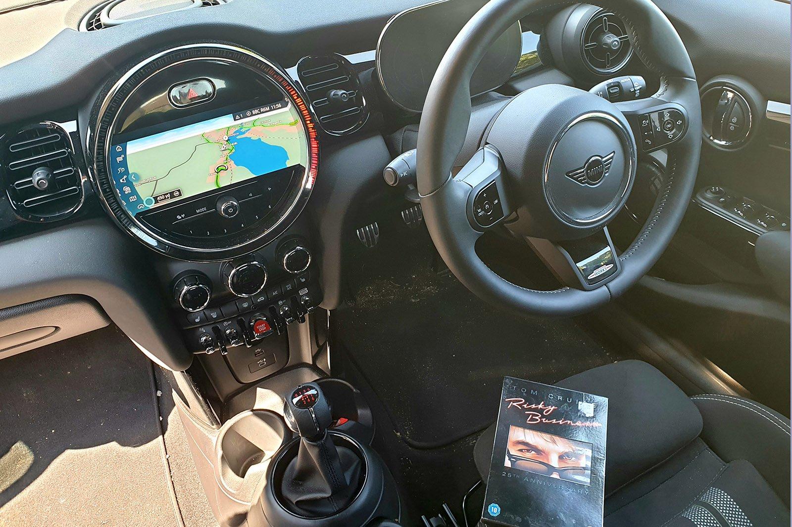 2021 Mini Hatchback 5dr Cooper Sport inside Risky Business