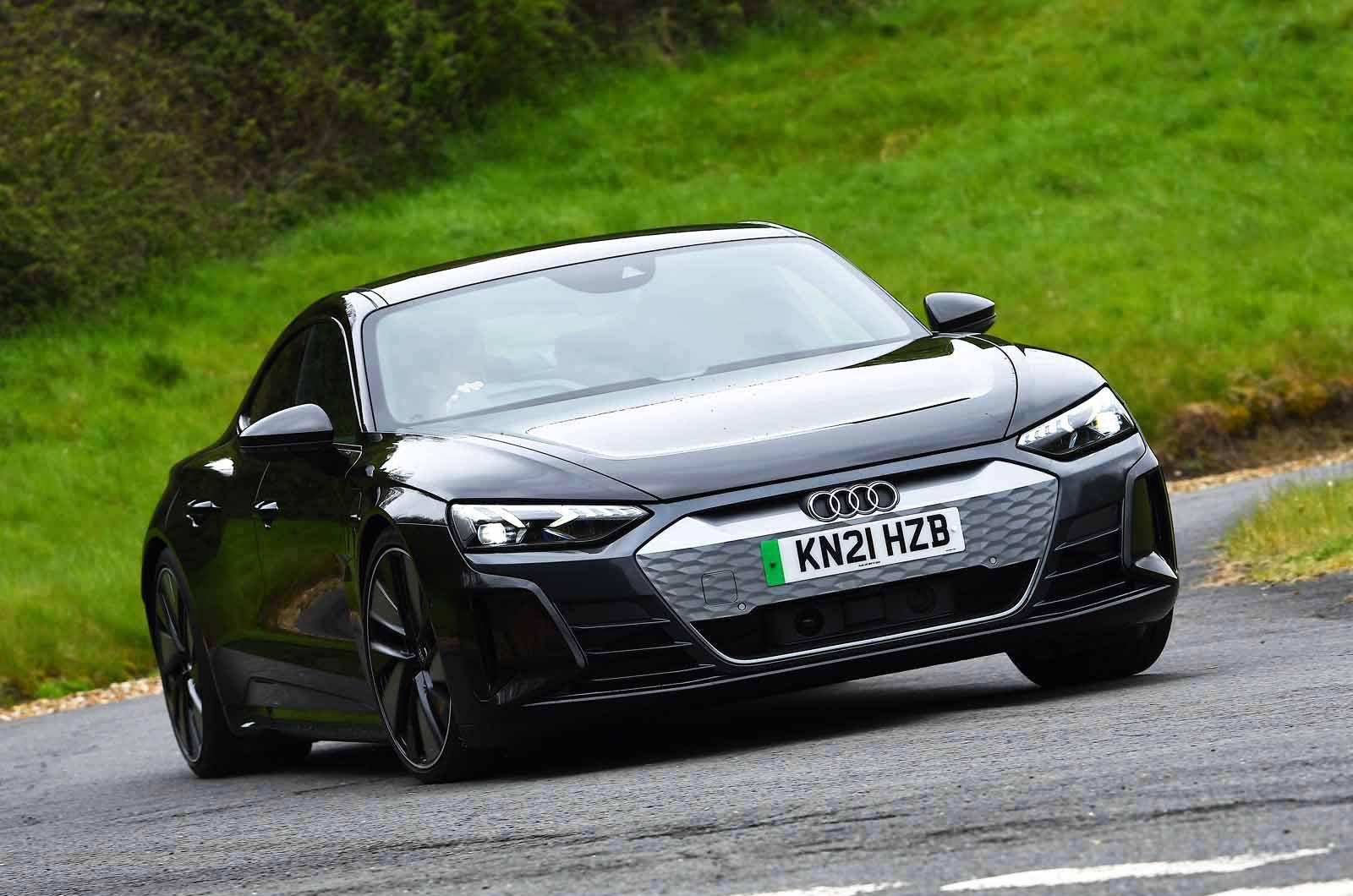 Audi E-tron GT 2021 front