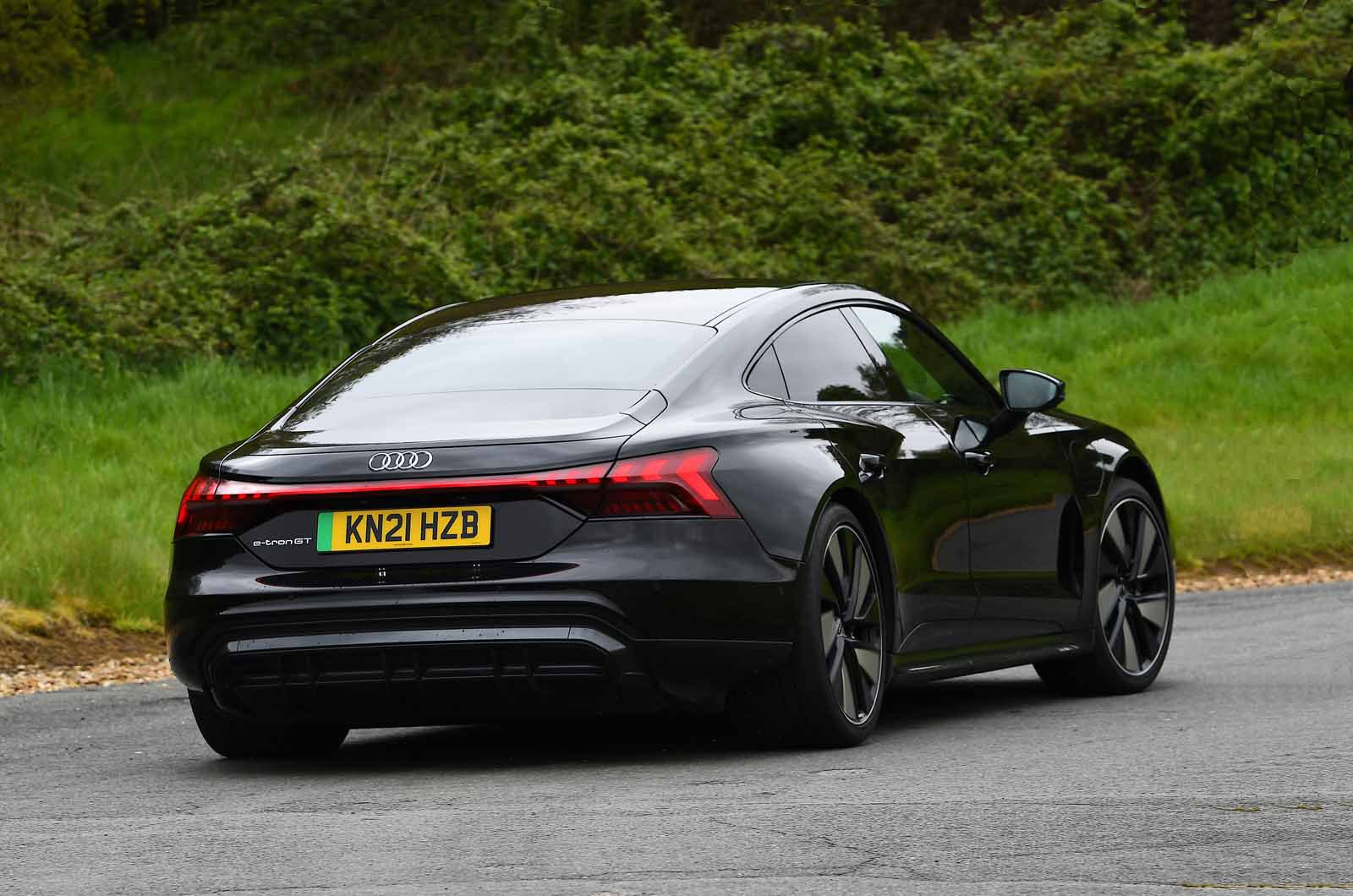 Audi E-tron GT 2021 rear