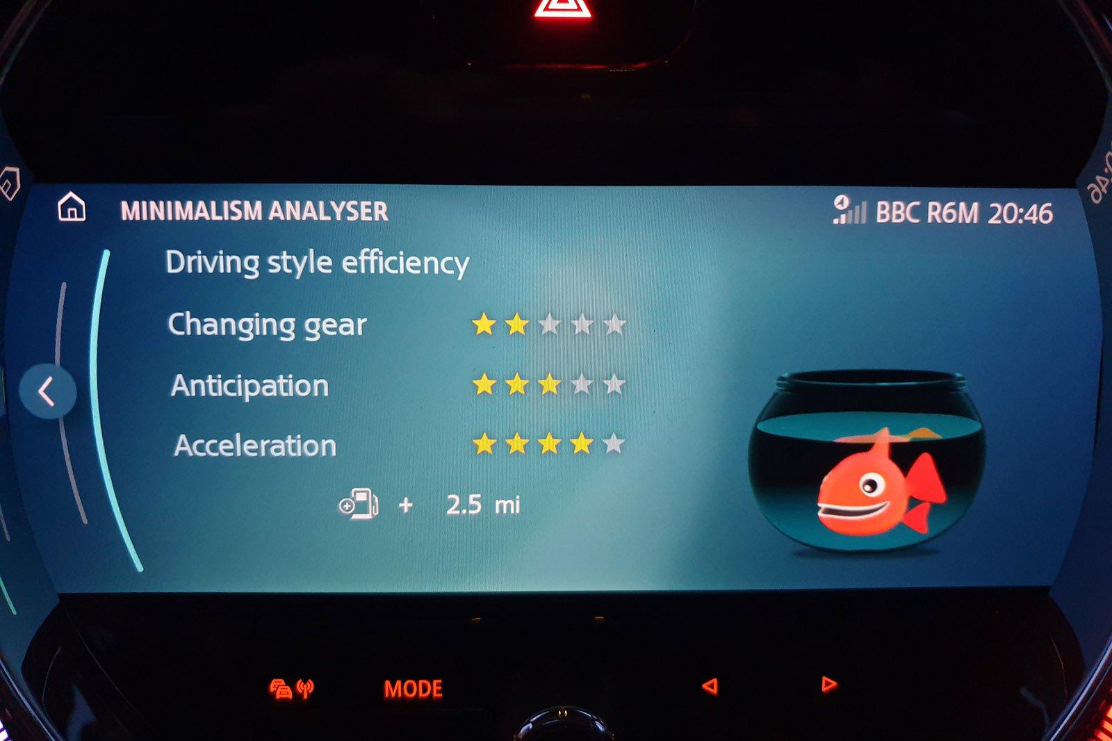 2021 Mini Hatch long-term economy goldfish