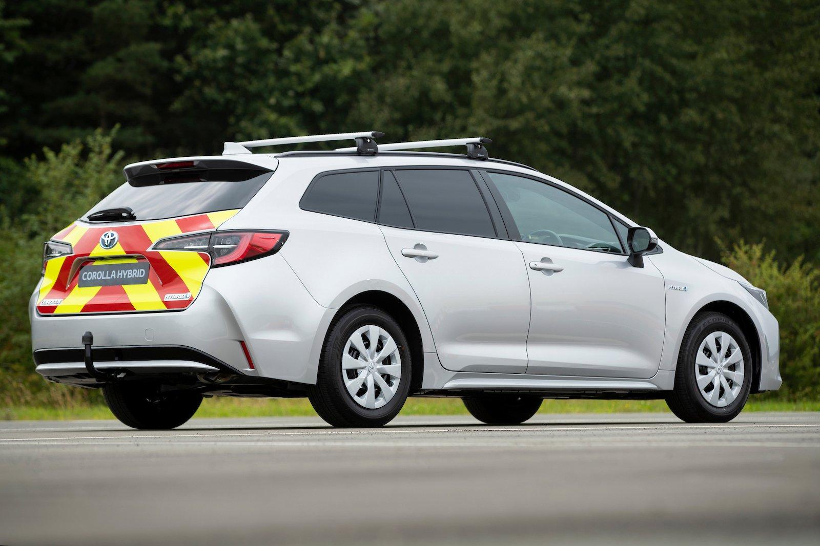 Toyota Corolla Commercial Rear
