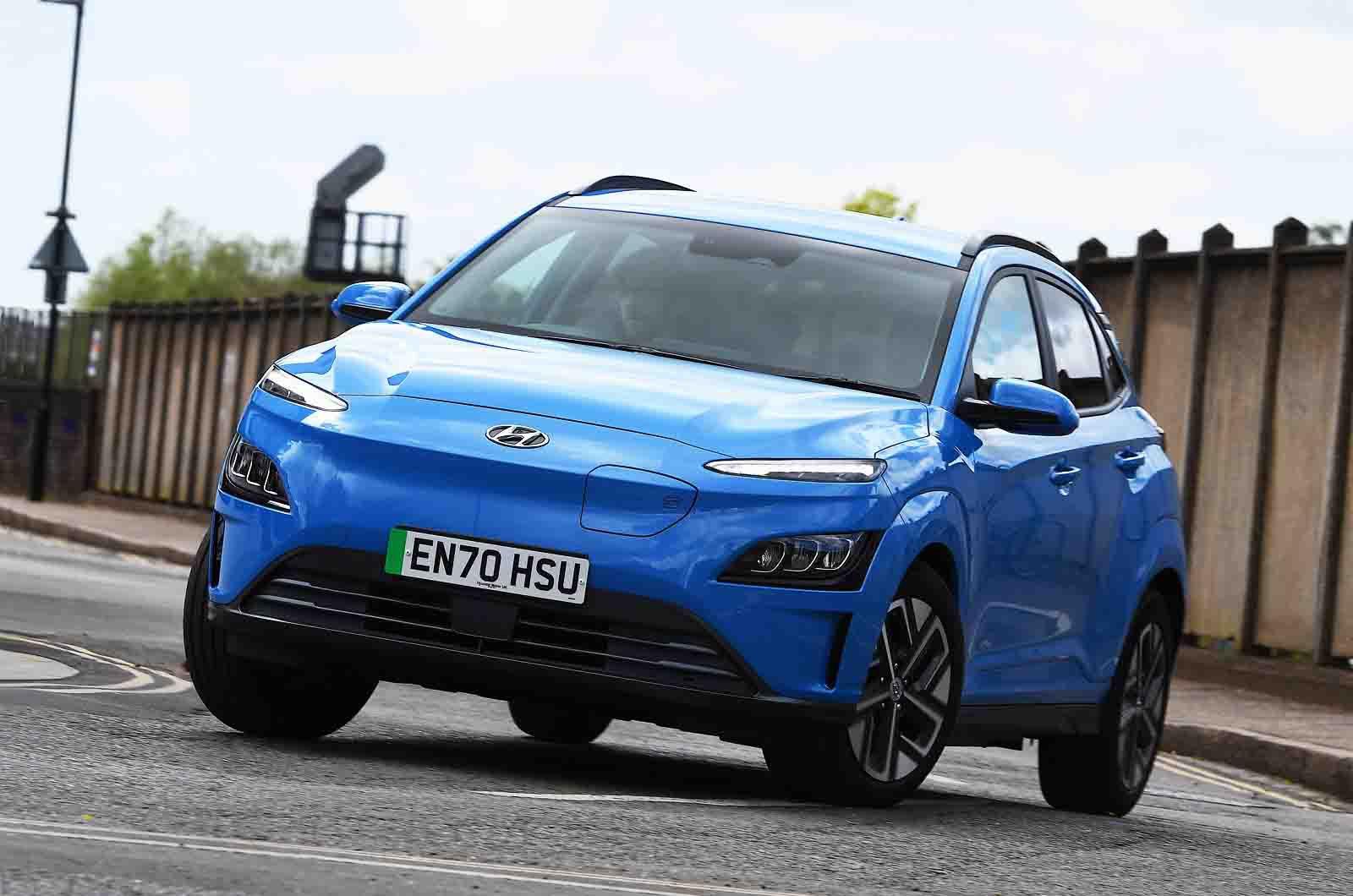 Hyundai Kona Electric 2021 nose
