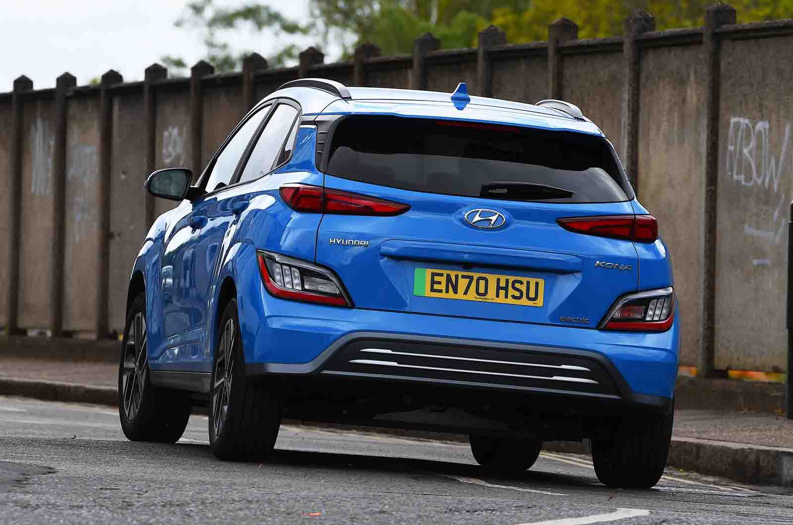 Hyundai Kona Electric 2021 rear