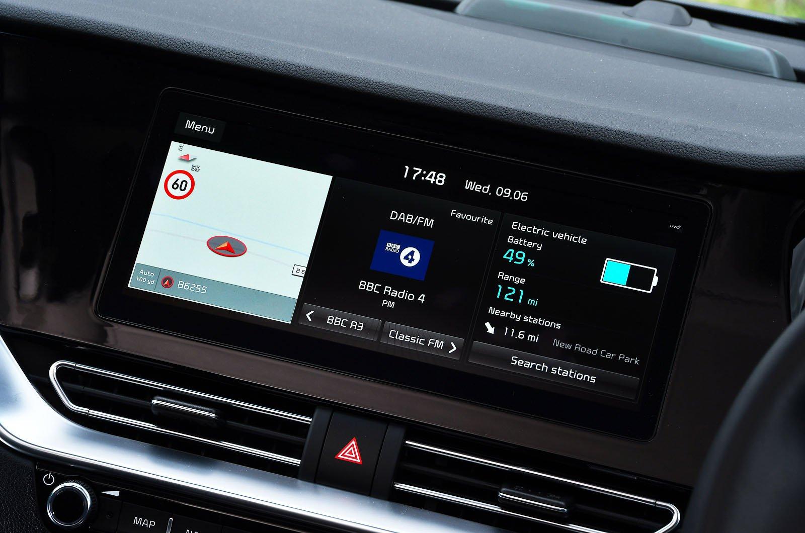 Kia e-Niro 2021 touchscreen