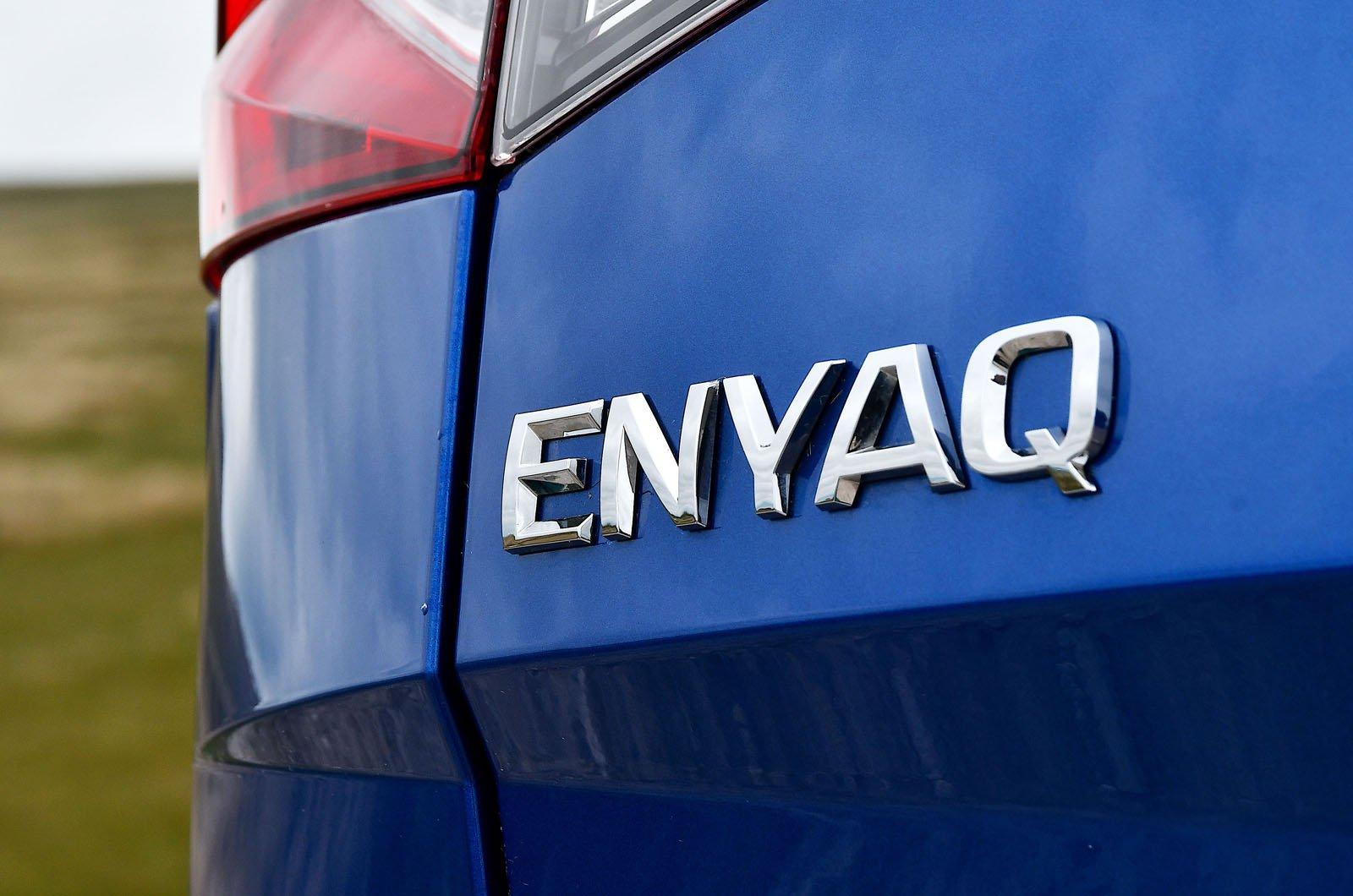 Skoda Enyaq iV 2021 badge