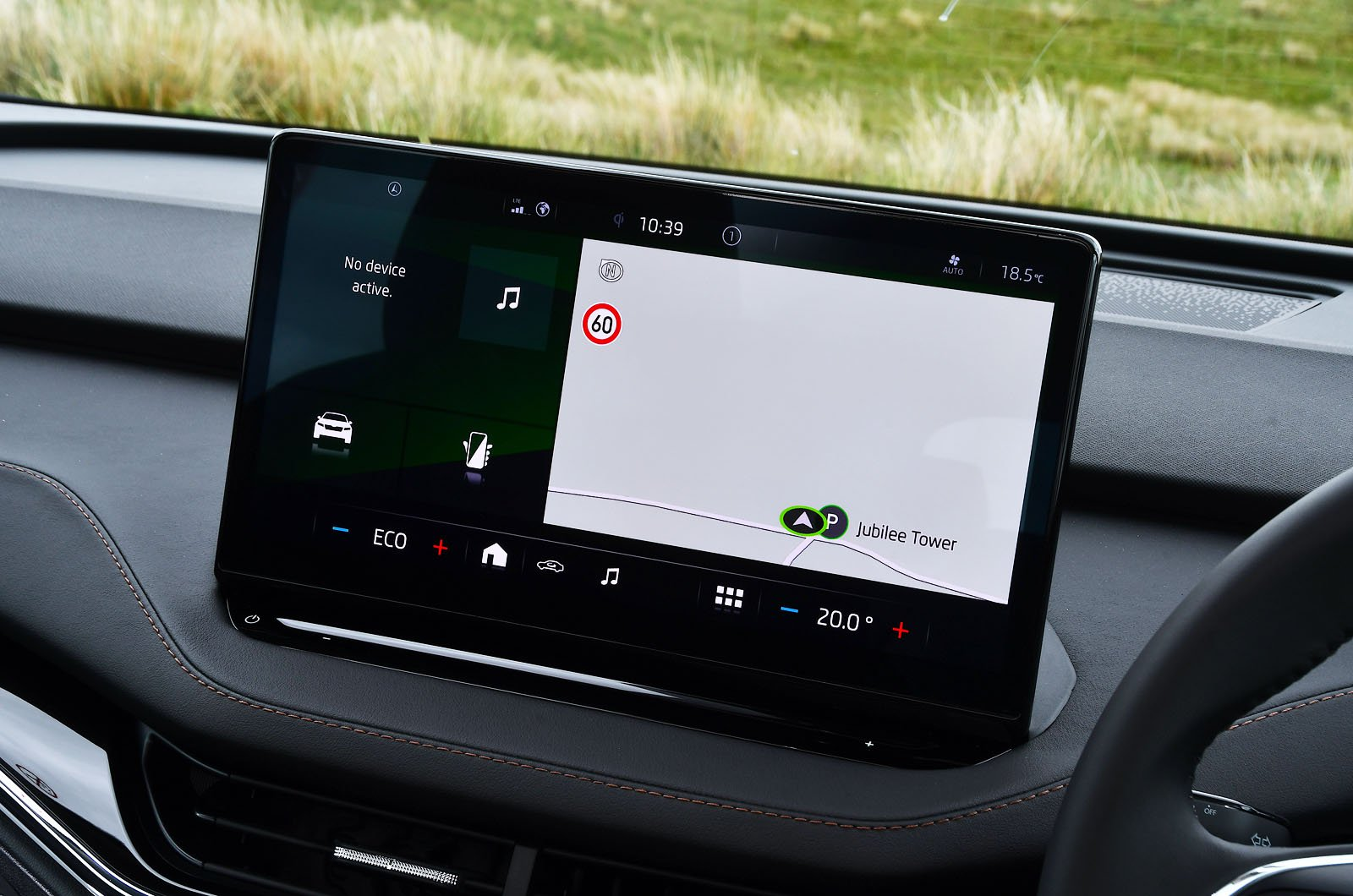 Skoda Enyaq iV 2021 touchscreen