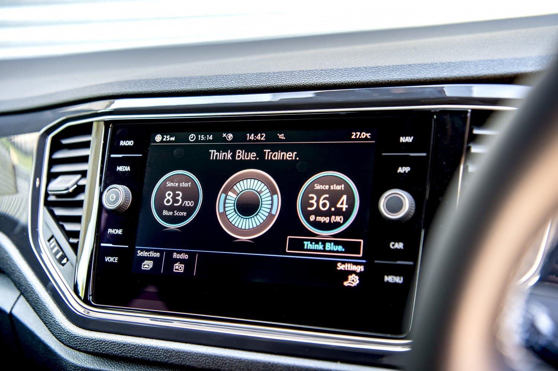 Volkswagen T-Roc 2021 interior infotainment