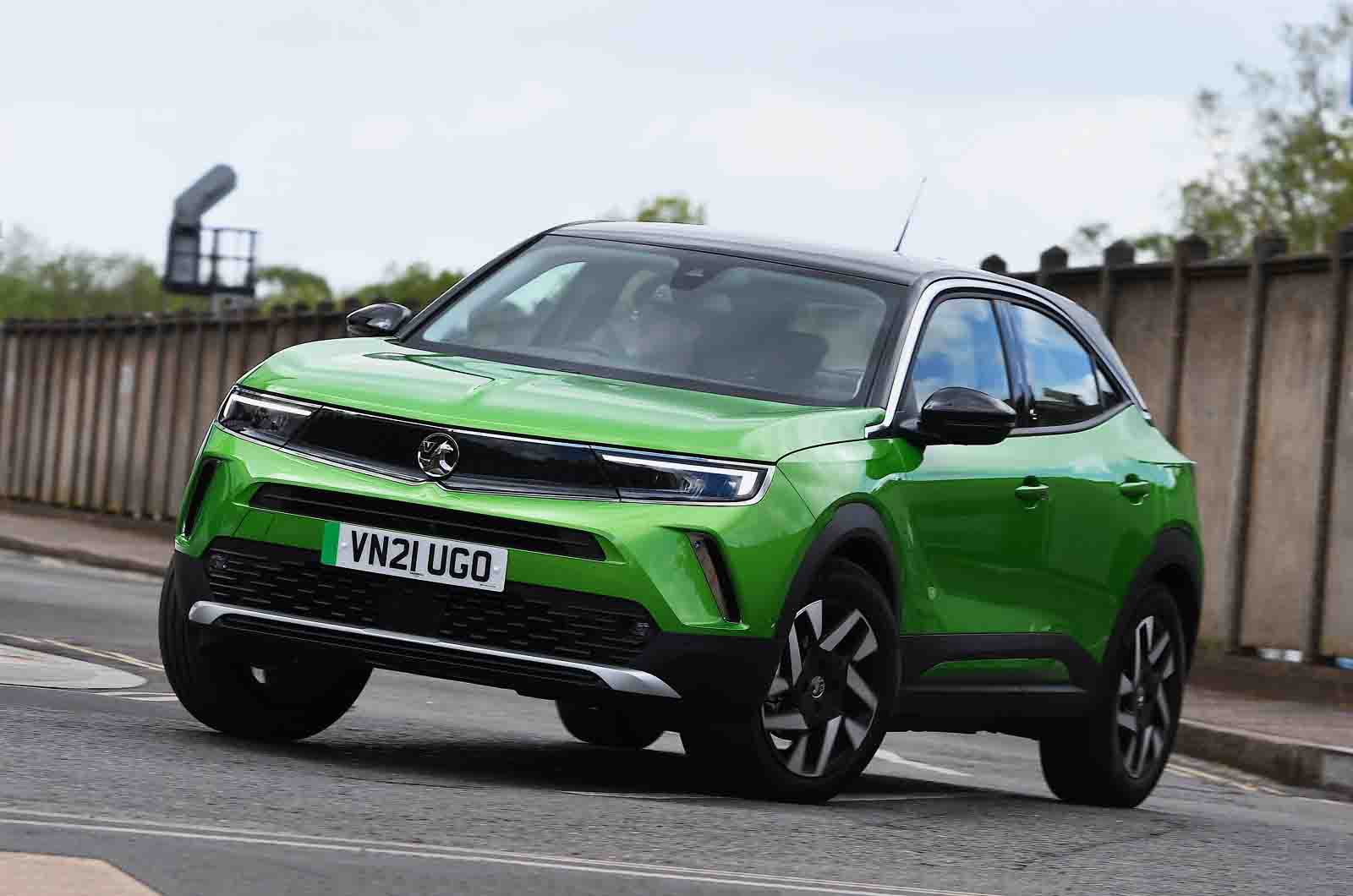 Vauxhall Mokka-e 2021 nose