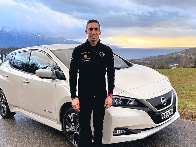 Sebastien Buemi is an electric driving convert, thanks to the Nissan LEAF's impressive performance, advanced tech and easy recharging