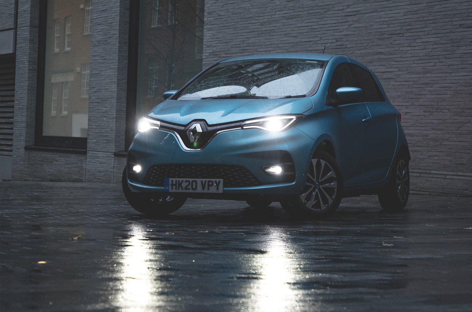 Renault Zoe long-term static