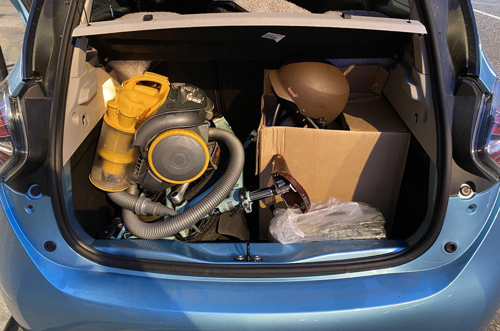 Renault Zoe boot long-term