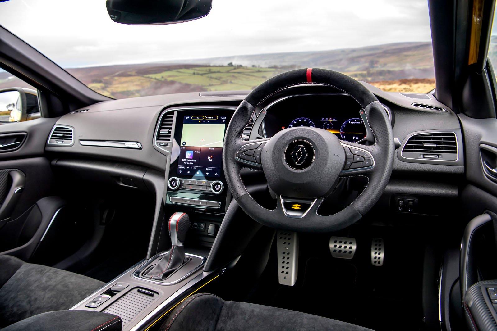 Interior do Troféu Renault Megane RS 2021