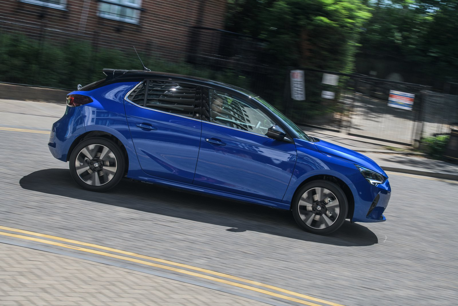 Vauxhall Corsa-e side