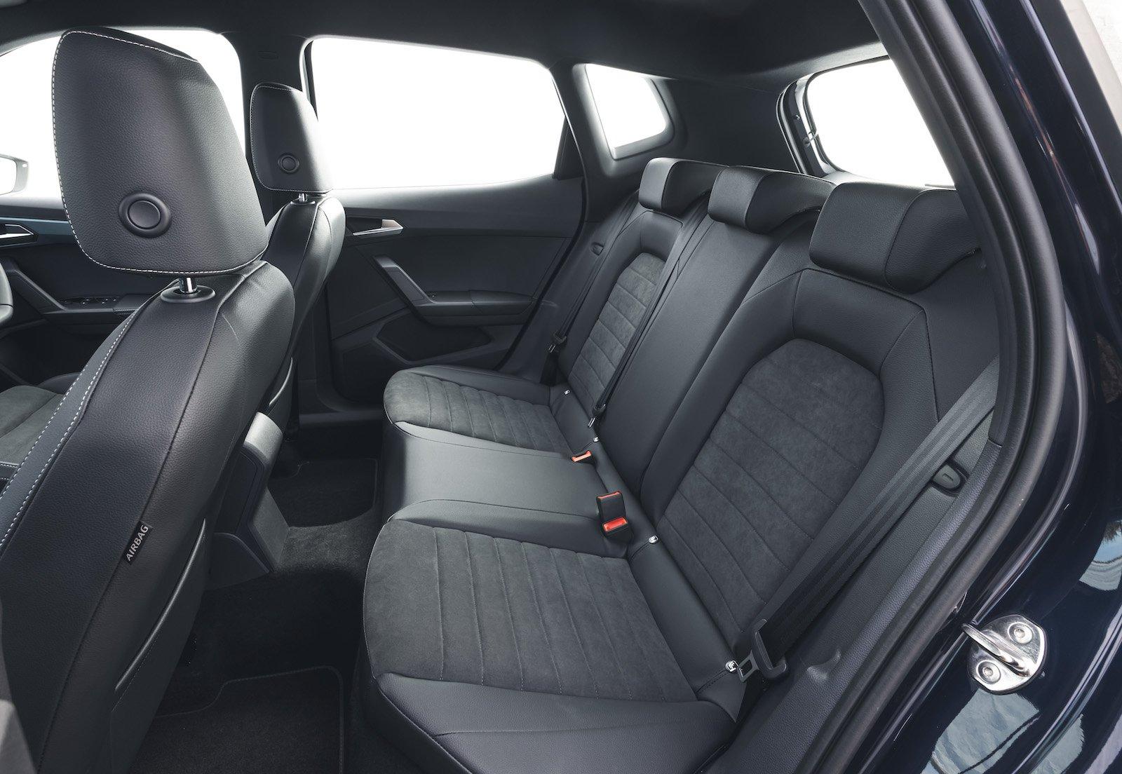 Seat Arona 2021 interior rear seats