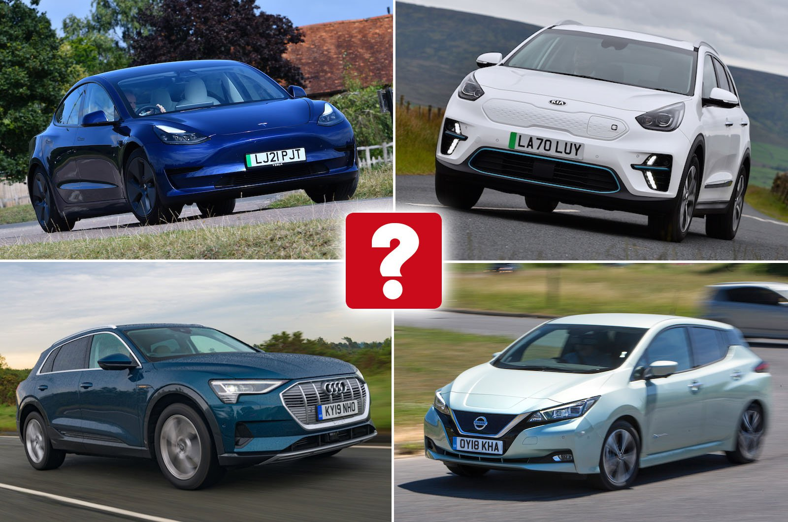 Top 10 used electric cars