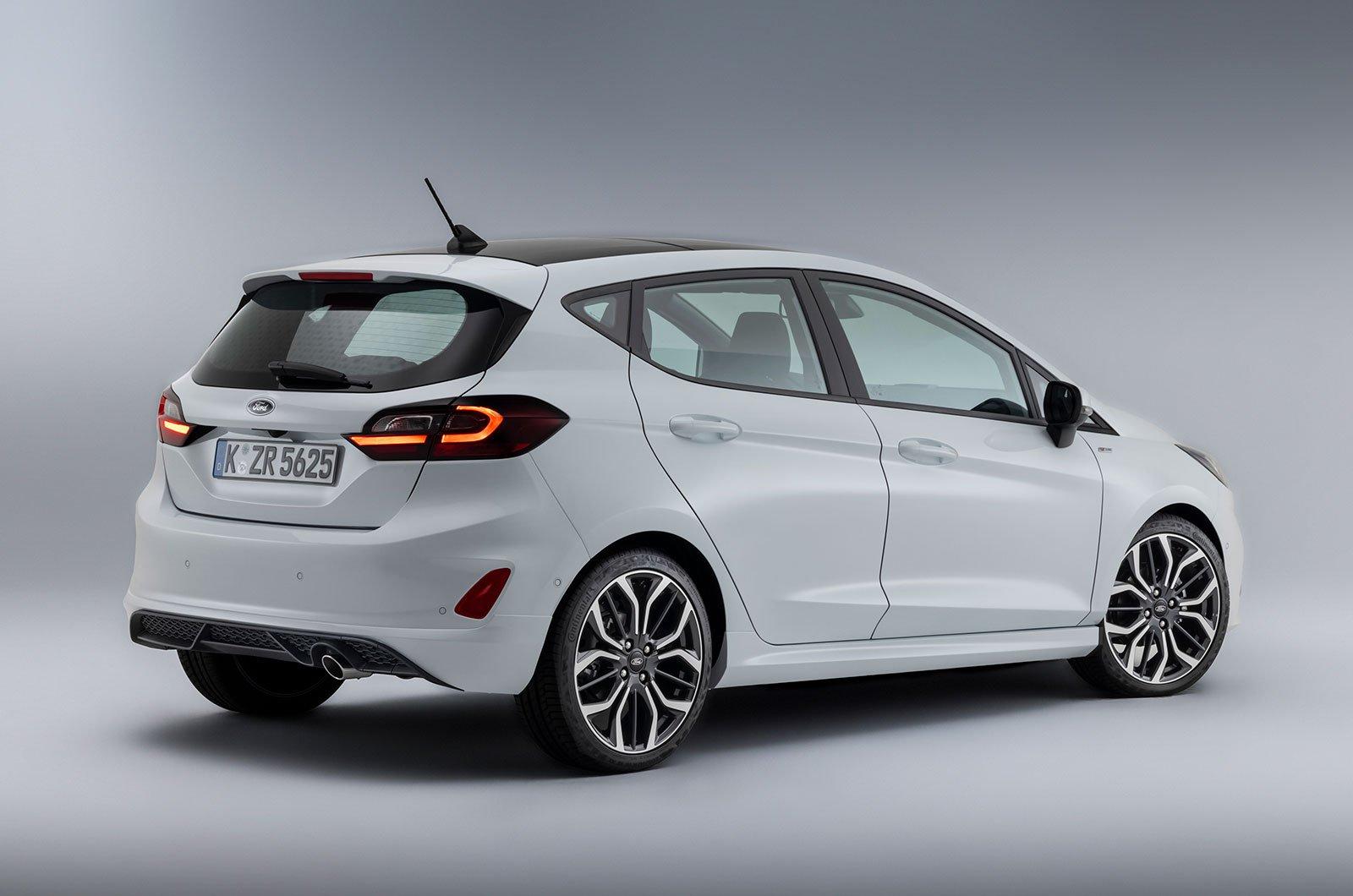 2022 Ford Fiesta rear