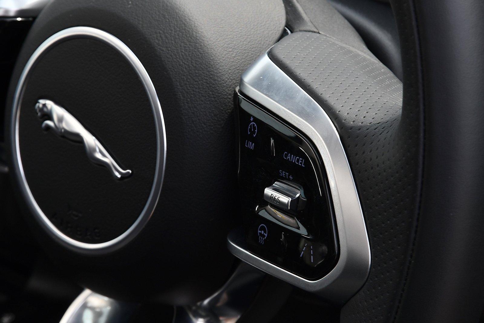 Jaguar E-Pace 2021 long-term cruise control switch